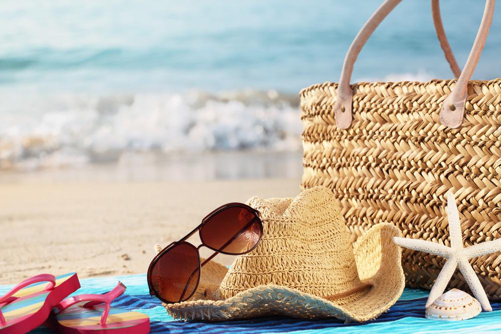 Summer vacation at beach